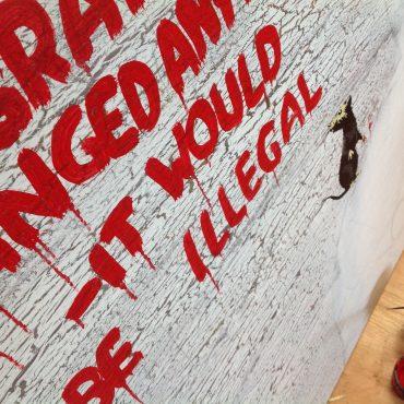Trending #Banksy – Maths, Criminology & Portrait Painting