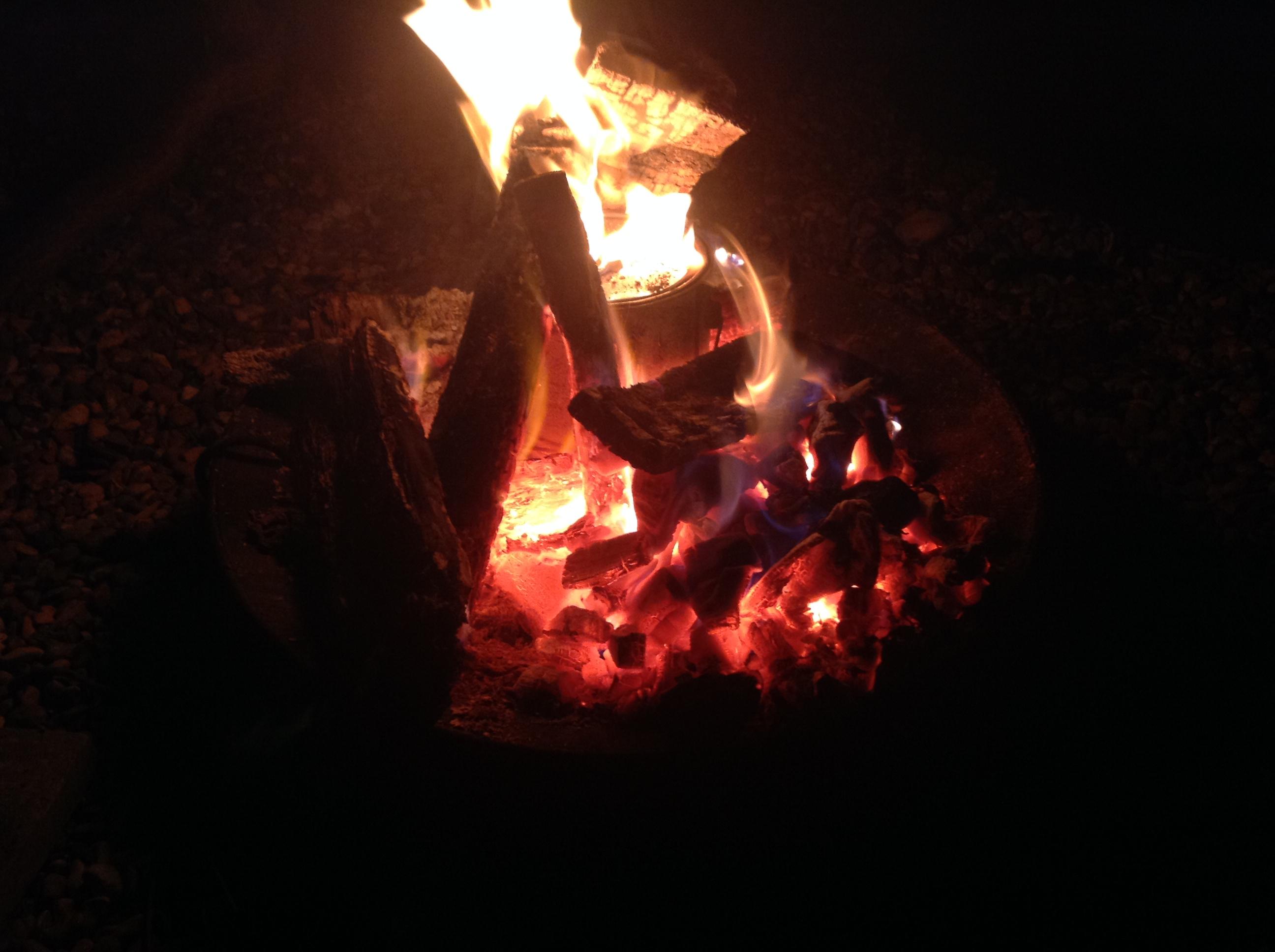 Creating charcoal