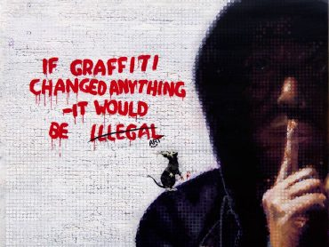 BANKSY – If Graffiti changed anything…