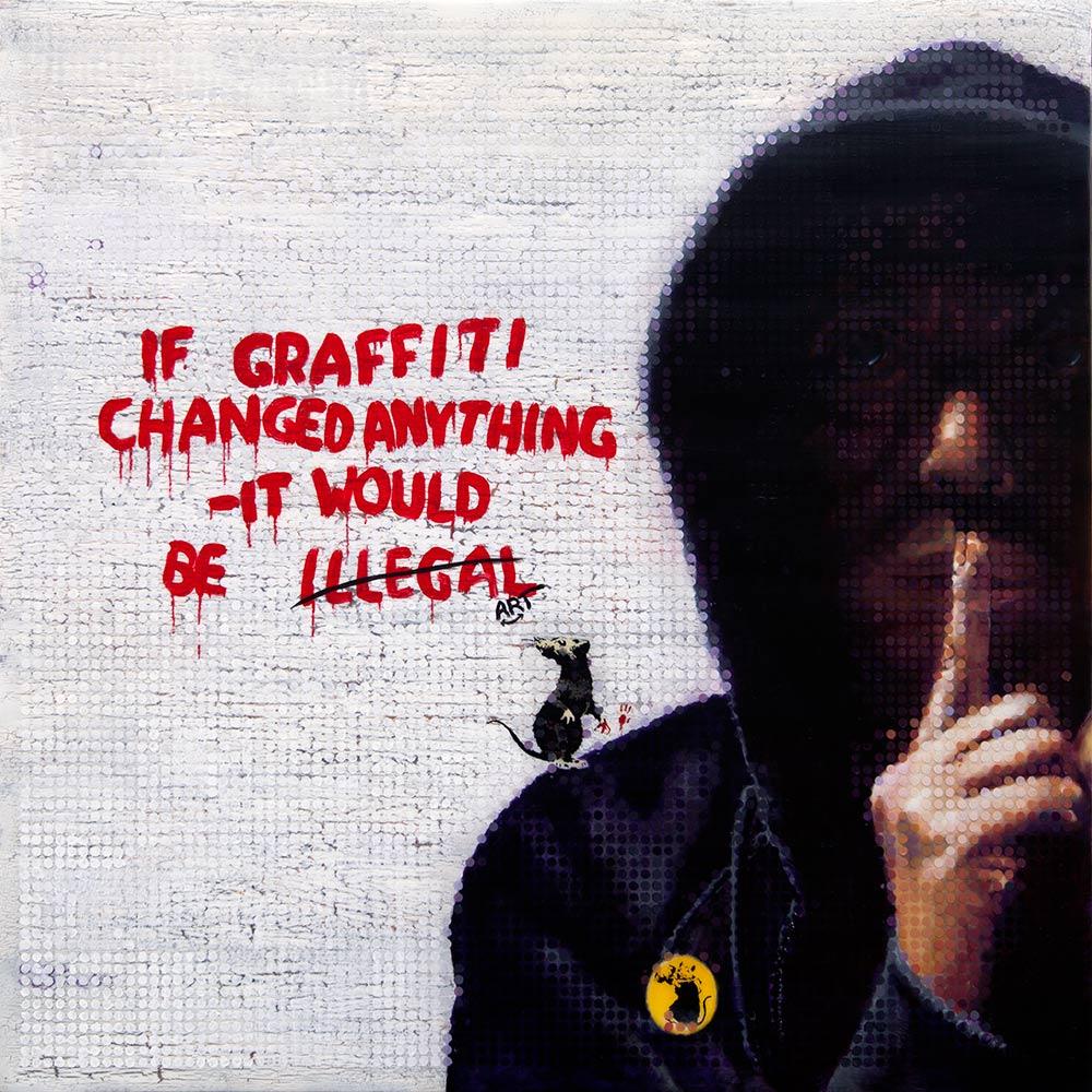 BANKSY - If Graffiti Changed Anything...