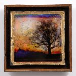 Silhouette at Dusk – Sold