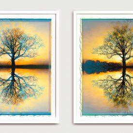 Split Horizon Diptych – Sold